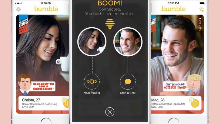 Bumble - ứng dụng hẹn hò cực hot
