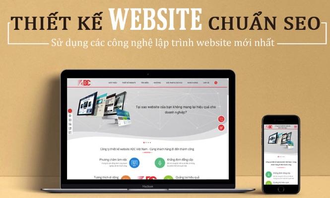 Thiết kế website resort ADCvietnam