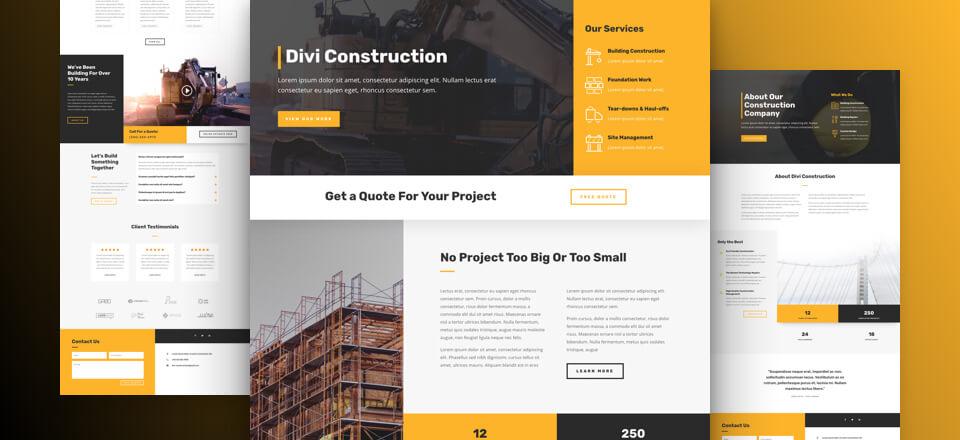 Thiết kế website xây dựng với mức chi phí phù hợp