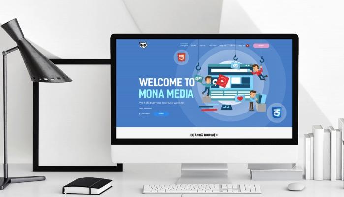 Công ty thiết kế website khách sạn Mona Media