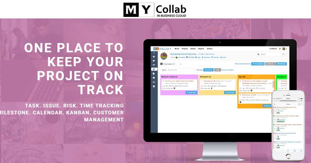 MyCollab- Web-app quản lý dự án trên điện toán đám mây