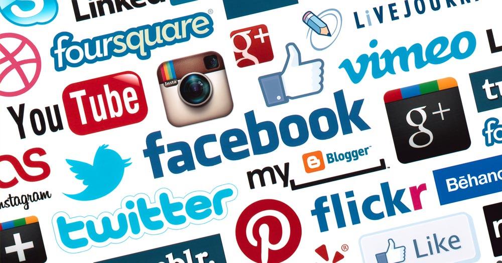 Chú ý tới liên kết với các mạng xã hội