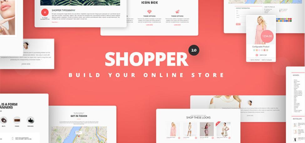 theme bán hàng wordpress Shopper