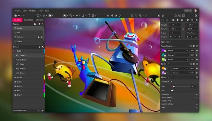 Phần mềm vẽ đồ họa - Gravit Designer