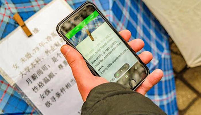 App dịch tiếng Trung bằng hình ảnh chính xác nhất - iTranslate