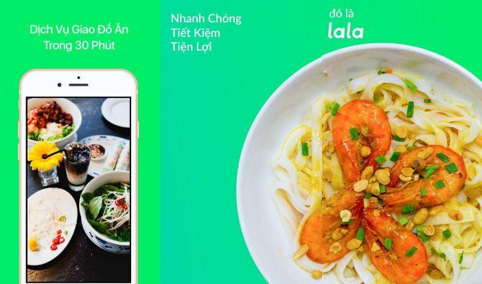 Lala - ứng dụng ship đồ ăn