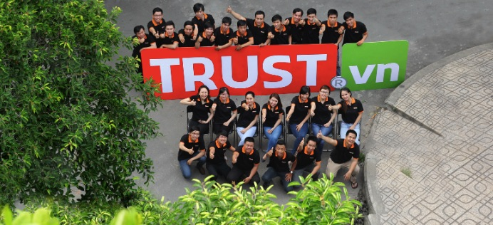 Công ty thiết kế website nhà hàng khách sạn Trust