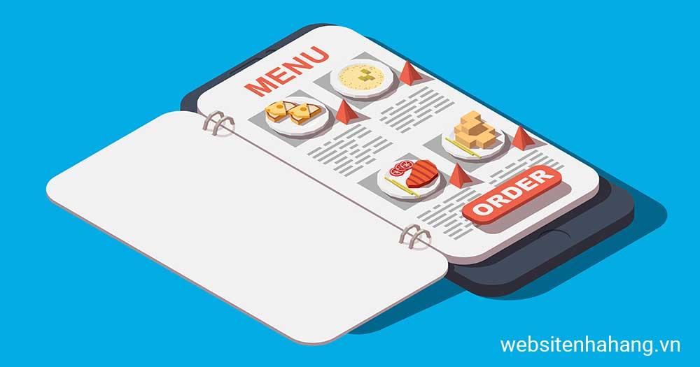 websitenhahang.vn- Đơn vị thiết kế website, web app nhà hàng chuyên nghiệp