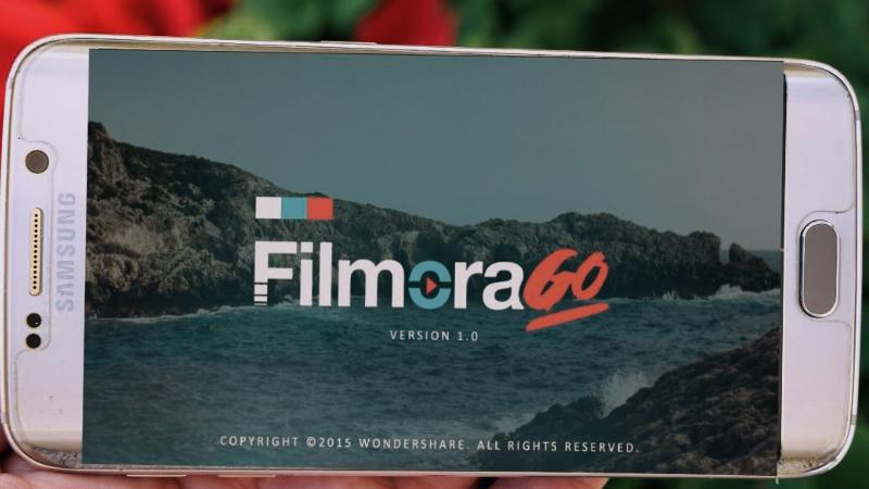 Phần mềm edit video trên điện thoại - FilmoraGo